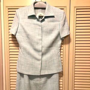 Vintage Short Sleeve Suit Set